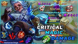 HARITH with MARKSMAN  ̶T̶R̶O̶L̶L̶  BUILD! When MM Build Deals Magic Damage, You'll be SURPRISED!
