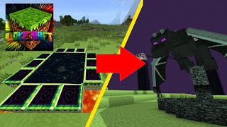 Can you fight ENDER DRAGON in LOKI CRAFT (very epic)