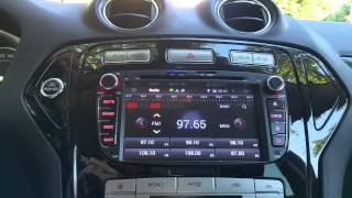 Pumpkin Android Car Radio Ford Mondeo