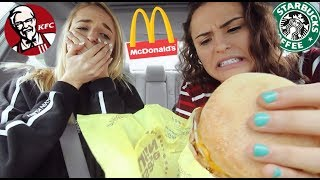 Letting The Person In FRONT of Us DECIDE What We EAT | AYYDUBS