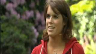 HRH Princess Eugenie talks about her Charity Cycle Ride and the Diamond Jubilee Events