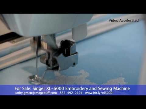 For Sale: Singer XL-6000 Embroidery and Sewing Machine