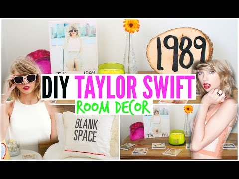 DIY Taylor Swift Room Decor ♡ Cheap + Simple!