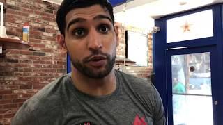 Amir khan breaks down conor vs khabib