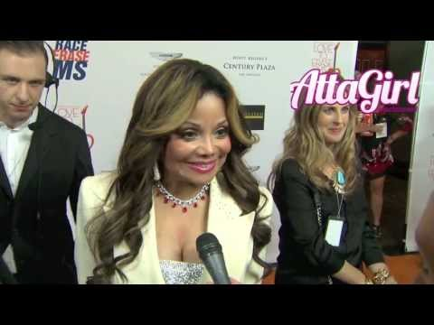 LaToya Jackson talks favorite Michale memory &amp; more @ Race to Erase MS