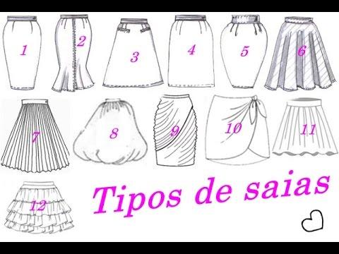 Todos os tipos de Saia molde e costura Alana Santos Blogger