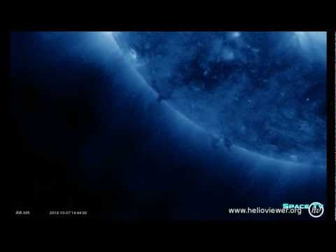 Large Anomalies by the Sun in AIA 335 images