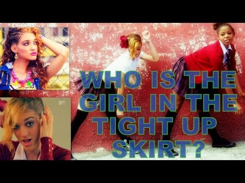 Who Really Is The Girl In the Tight Up Skirt????