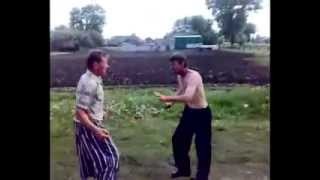 Russian boxers fight.