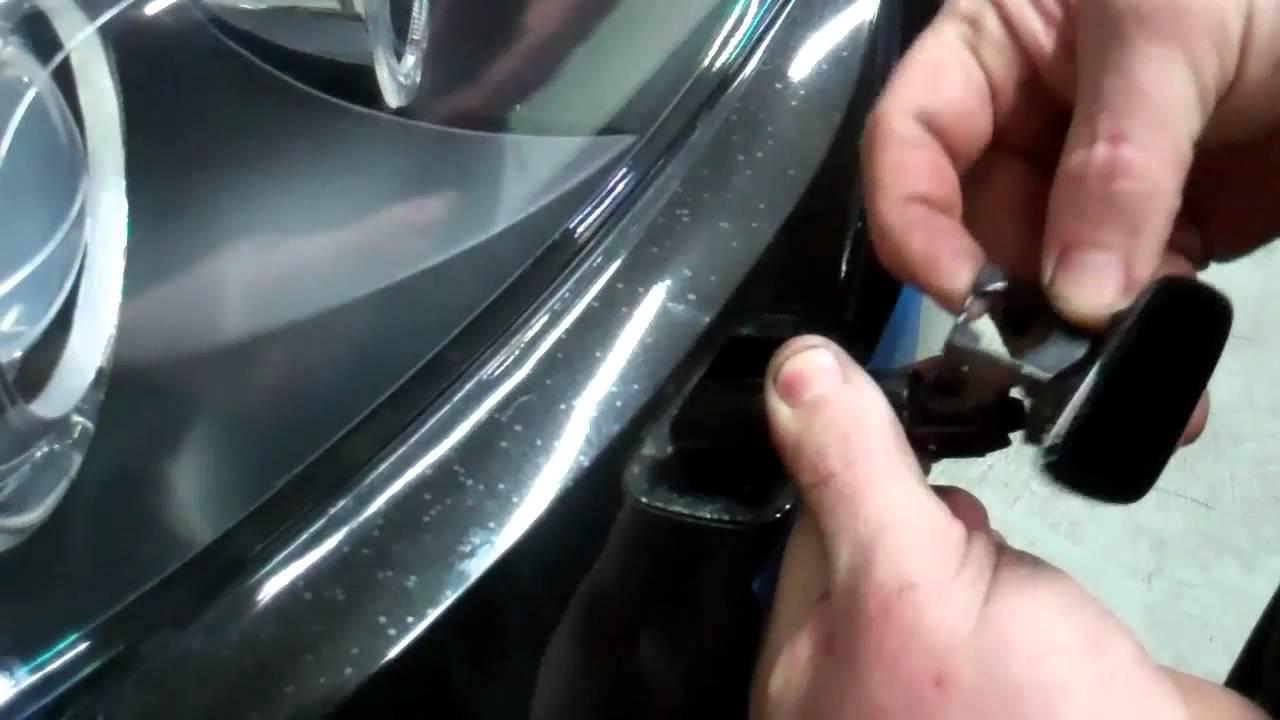E92 Bumper And Headlight Work Youtube