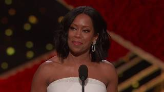 Regina King wins Best Supporting Actress