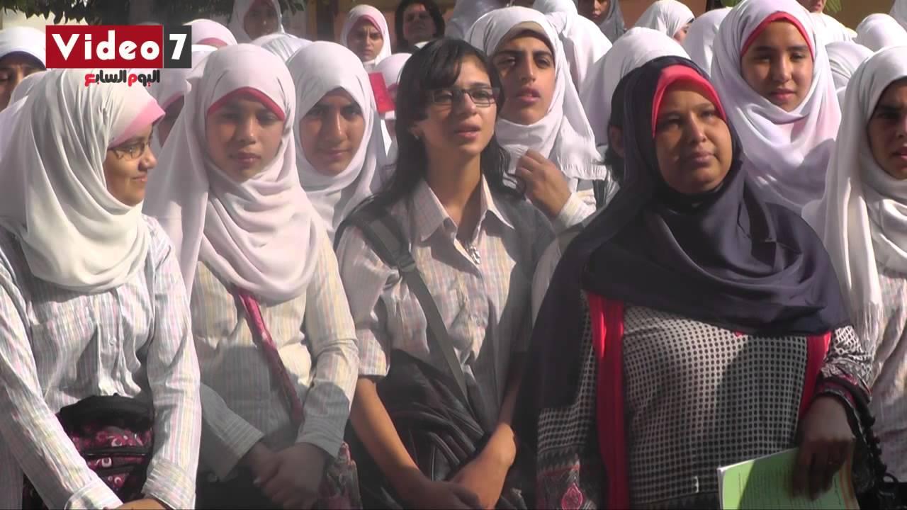 شاهد بالفيديو طالبة مسيحية تغنى  ياحبيبى يامحمد مع الإذاعة المدرسية Maxresdefault