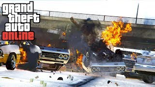 BIGGEST CHAOS IN THE GAMING HISTORY | GTA ONLINE