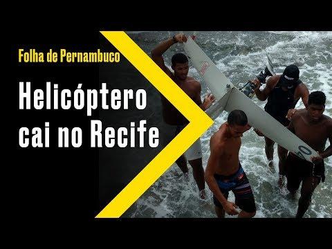 [Cotidiano] Vídeo mostra helicóptero da Globo antes da queda, no Recife thumbnail