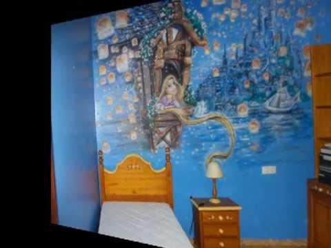 Mural habitacion infantil