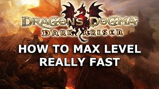Dragon's Dogma Dark Arisen - How to Max Level Really Fast