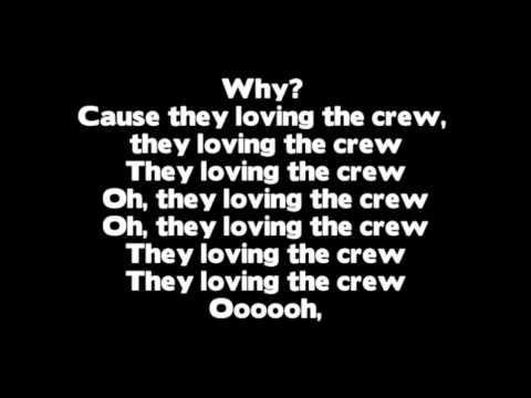Drake - Crew Love ft. The Weeknd (Lyrics On Screen) Music Videos