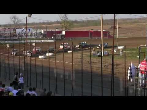 USMTS @ I-35 speedway Heat 3 3-25-2012
