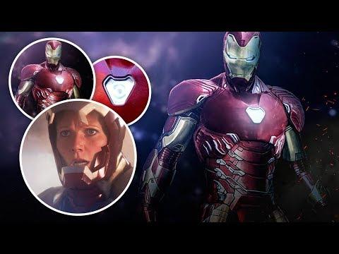 Секретный костюм Тони Старка для Войны Бесконечности.