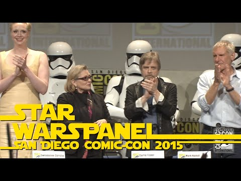 Entretenimiento-The Very Best Moments of the Star Wars Panel at San Diego Comic-Con 2015