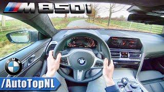 2019 BMW 8 SERIES M850i xDrive 4.4 V8 BiTurbo POV Test Drive by AutoTopNL