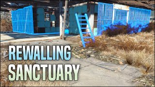 Rewalling Sanctuary 🧱 Fallout 4 No Mods Shop Class