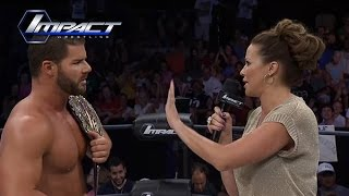 Jeff Jarrett Wants the KOTM Title Back from Bobby Roode, Karen Steps In (Sep. 9, 2015)