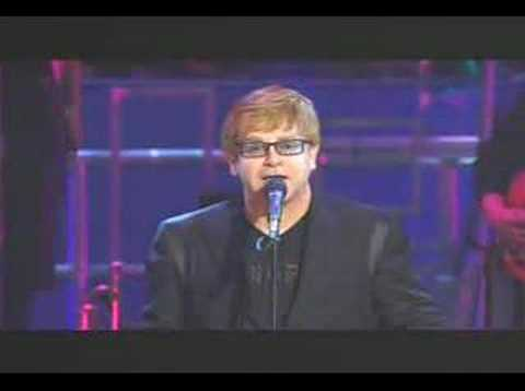 Brian Wilson and Elton John