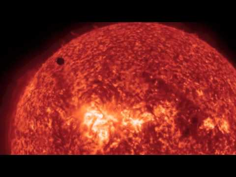 Venus Transit - Some Great Views | NASA SOHO SDO Sun Solar Spacecraft 2012