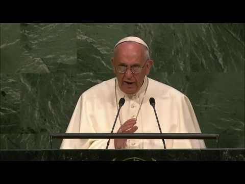 MaximsNewsNetwork: POPE FRANCIS ADDRESSES the U.N.: SUSTAINABLE DEVELOPMEMT, CLIMATE