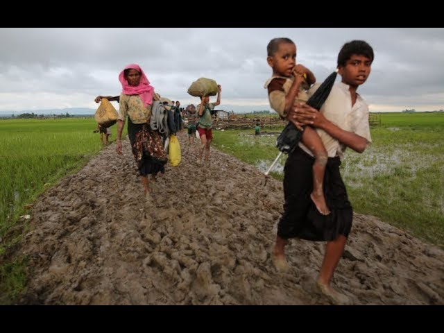 Who are the persecuted Rohingya Muslims?