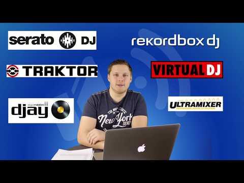 DJ Software Vergleich 2018