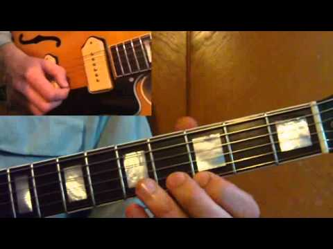 Rockabilly Guitar Lesson - Lonesome Train
