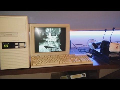 STARY KOMPUTER(1995r) 5x86 , 8 MB RAM , 133Mhz , STARE GRY I OBUDOWA