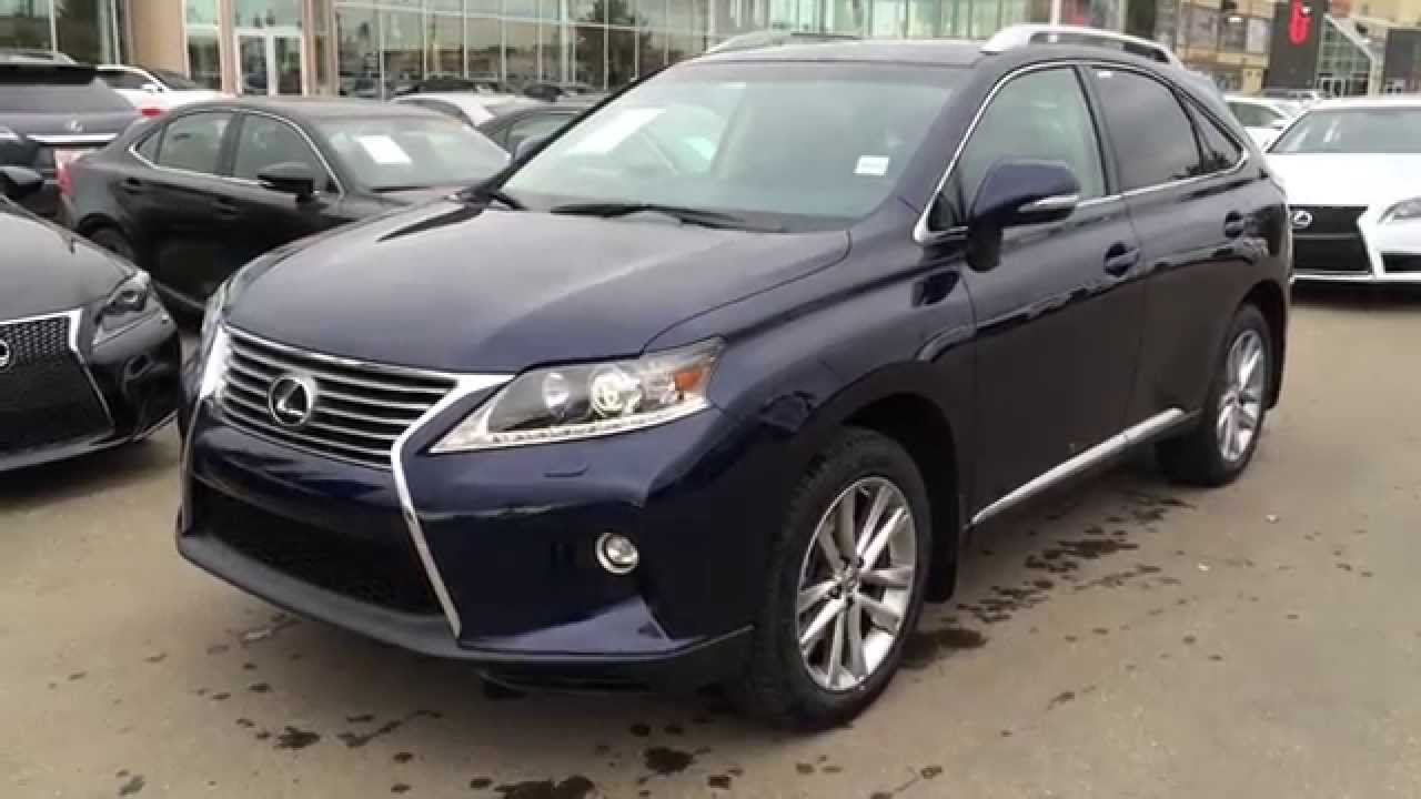 New Blue Deep Sea Mica 2015 Lexus RX 350 AWD Technology