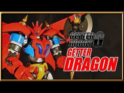 Fewture EX Gokin GETTER DRAGON Getter Robot G diecast figure review