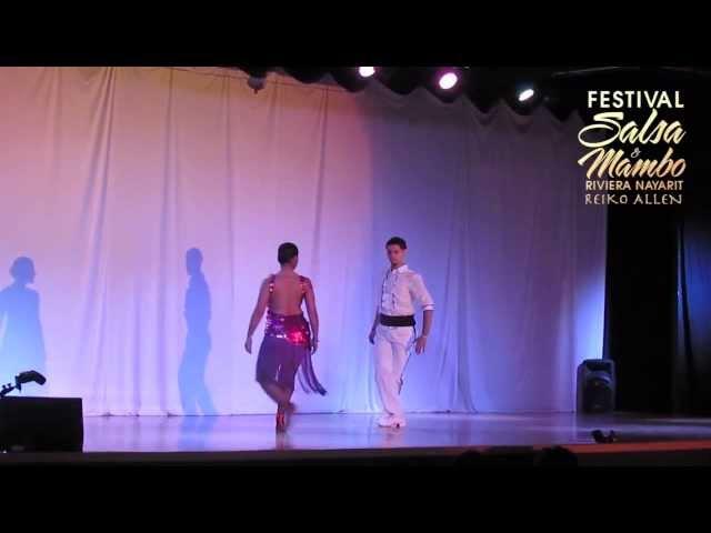Eddie Torres Jr. & Nelida Tirado - Saturday/Sábado | Riviera Nayarit Salsa & Mambo Festival 2013
