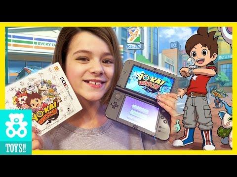 WE LOVE YO-KAI WATCH!! | Gameplay, demo, game review!  |  KITTIESMAMA
