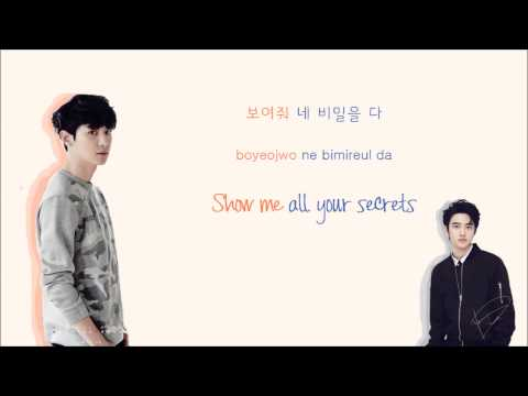 EXO-K - Playboy (Korean Version) (Color Coded Hangul/Rom/Eng Lyrics)