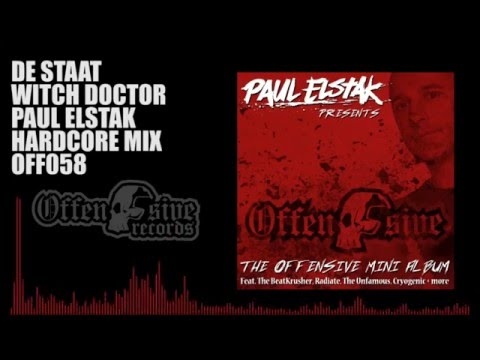 De Staat - Witch Doctor (Paul Elstak Hardcore Mix)