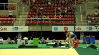 Rio de Janeiro - Test Event: Ludovico Edalli / Corpo Libero (qualifiche)