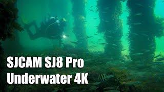 SJCAM SJ8 Pro 4K Underwater
