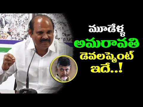 YSRCP Leader Pardha Sarathi Serious Comments on CM Chandrababu over Amaravathi Development