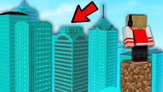 ENCONTREI A CIDADE SECRETA DE DIAMANTES NO MINECRAFT !