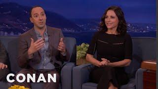 Julia Louis-Dreyfus & Tony Hale On Selina & Gary's Abusive Relationship - CONAN on TBS