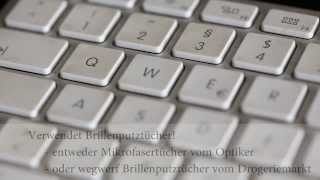 Apple Tastatur Putzen - Tipps