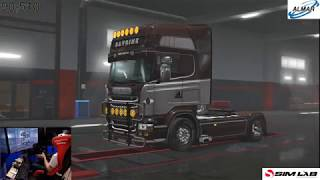 euro truck simulator 2 / starting again / 1.32 update/ day 7