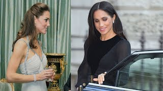 Meghan Markle's Outfit For Her First Solo Royal Engagement Was Poles Apart From Kate Middleton's