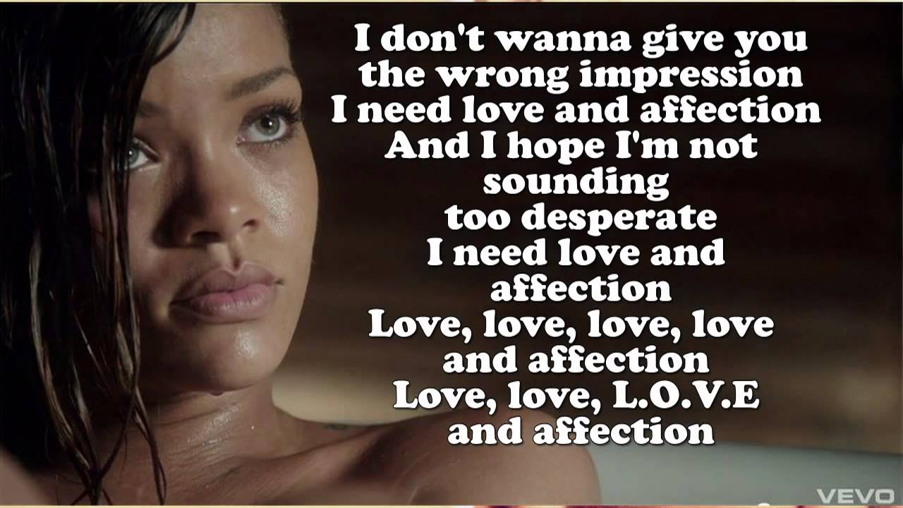 Rihanna ft. Future - L... Rihanna Songs Lyrics