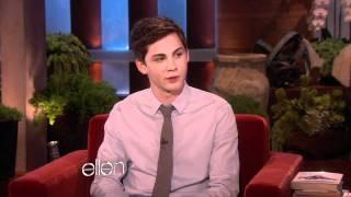 Ellen Chats with Logan Lerman